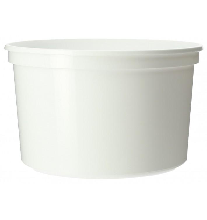 Contenitore rotondo bianca in plastica 500cc  Ø11,5cm (500 Pezzi)