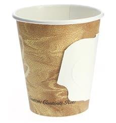 "Bicchiere di Carta 6Oz/180ml ""Mistique"" con Manici Ø7,4cm (50 Pezzi)"