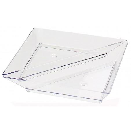 Piattino Plastica Degustazione Triangolare 5x10cm (576 Pezzi)