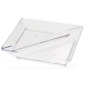 Piattino Plastica Degustazione Triangolare 5x10cm (8 Pezzi)