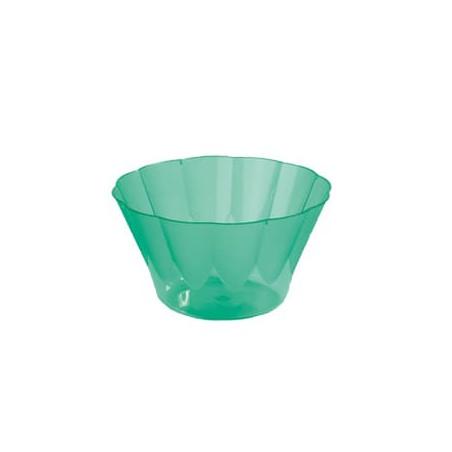 Copa ROYAL para  COCTAIL Verde de Plastico 300ml (Caja 560Uds)