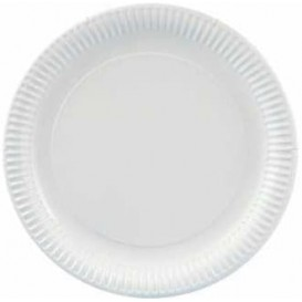 Piatto di Carta Tondo Bianco 300 mm (100 Pezzi)