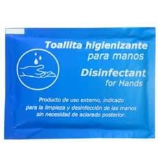 Toallitas Desinfectantes e Higienizantes (100 Unidades)