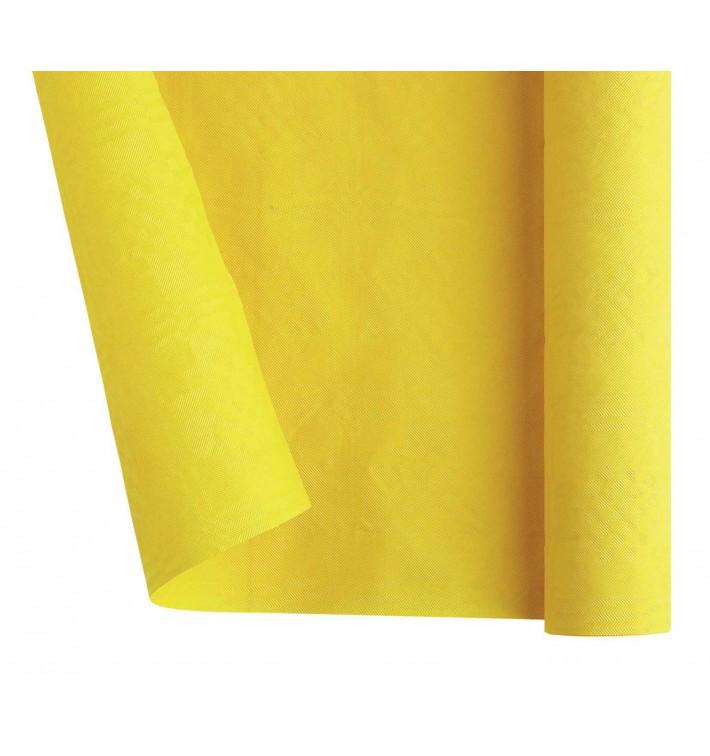Tovaglia di Carta Rotolo Giallo 1,2x7m (25 Pezzi)