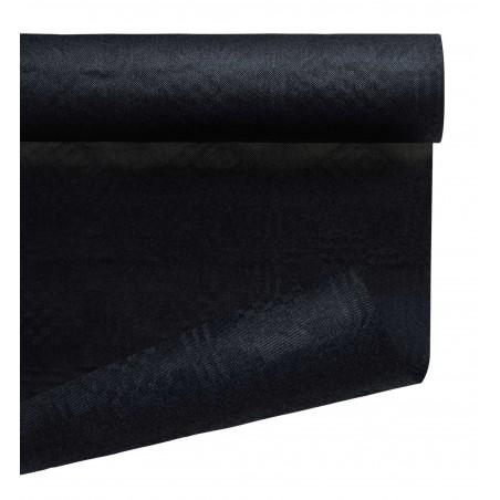 Tovaglia di Carta Rotolo Nero 1,2x7m (25 Pezzi)