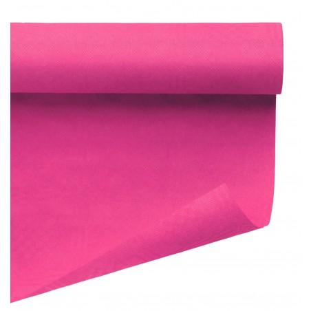 Tovaglia di Carta Rotolo Fucsia 1,2x7m (25 Pezzi)
