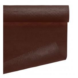 Tovaglia di Carta Rotolo Cioccolato 1,2x7m (25 Pezzi)