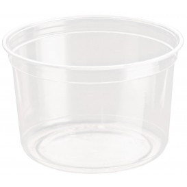 Contenitore di Plastica rPET DeliGourmet 16oz/473ml (50 Pezzi)