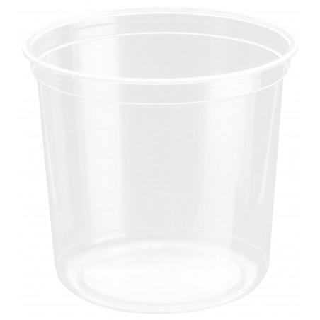 Contenitore di Plastica rPET DeliGourmet 24oz/710ml (500 Pezzi)
