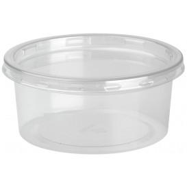 Contenitore di Plastica rPET DeliLite con Coperchio 7,6oz/217ml (500 Pezzi)