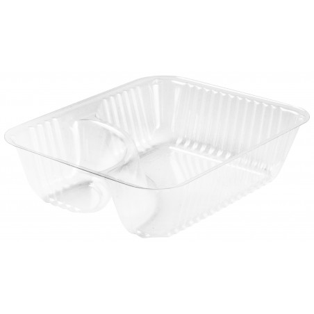 Contenitore di Plastica OPS 2 C. Trasp. 355ml (125 pezzi)