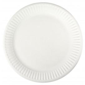 Piatto in Cellulosa Bianco Ø18,5 cm (1000 Pezzi)