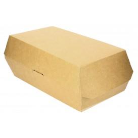 Contenitore per Sandwich Kraft 20x10x8cm (25 Pezzi)