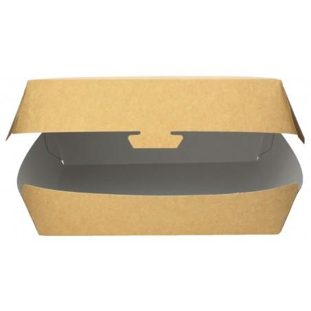 Contenitore per Baguette Kraft 20x10x4cm (250 Pezzi)
