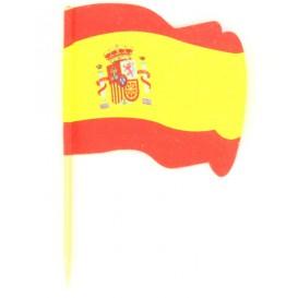 """Spiedi in Legno Bandiera """"Espagne"""" 65mm (14.400 Pezzi)"""