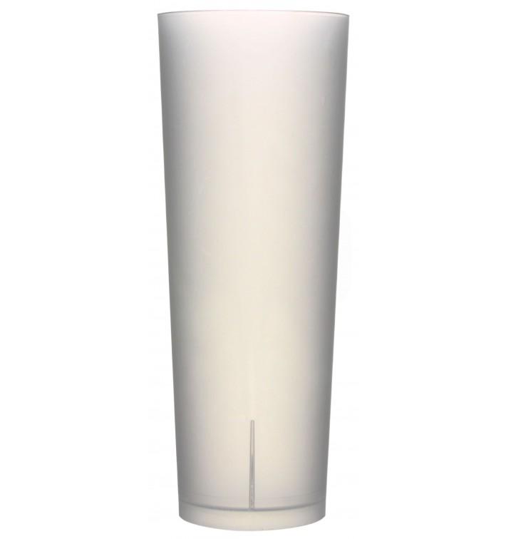 Bicchiere di Plastica Ecologico Tubo 330 ml (10 Pezzi)