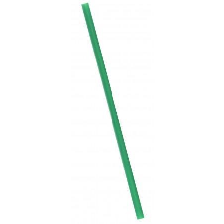 Cannuccia Dritta BIO PLA Verde Ø8mm 18cm (6000 Pezzi)