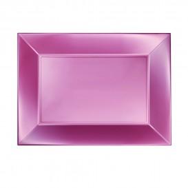 Vassoio Plastica Rosato Nice Pearl PP 280x190mm (240 Pezzi)