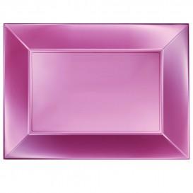 Vassoio Plastica Rosato Nice Pearl PP 345x230mm (60 Pezzi)