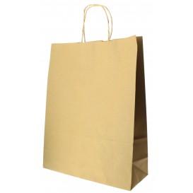 Buste Shopper in Carta Hawanna 100g 32+12x41 cm (50 Pezzi)