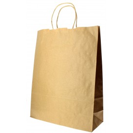 Buste Shopper in Carta 100g 32+12x40cm (200 Pezzi)