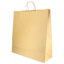 Buste Shopper in Carta 100g 46+16x49 cm (200 Pezzi)
