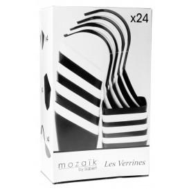 Set Degustazione Finger Food Bianco e Nero 24pz (12 Kits)