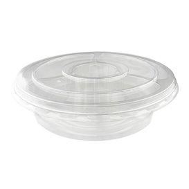 Ciotole di Plastica PET 5C e Coperchio Ø26x7cm (100 Pezzi)