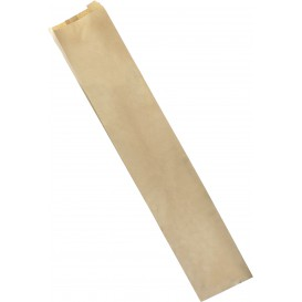 Sacchetto di Carta Kraft 9+5x24cm (250 Pezzi)