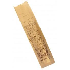 "Sacchetto di Carta Kraft ""Siega"" 12+9x58cm (250 Pezzi)"