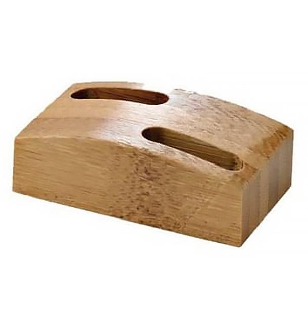 Supporto di Bambu per Spiedi 60x35mm (10 Pezzi)