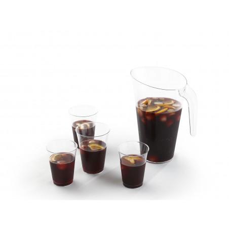 Bicchiere di Plastica PS Iniettato Trasparente 330 ml (500 Pezzi)