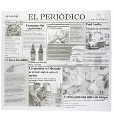 "Carta Antigrasso ""Periodico"" 28x31cm (1000 Pezzi)"
