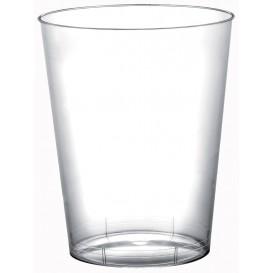 Bicchiere di Plastica Moon Transparent PS 320ml (20 Pezzi)