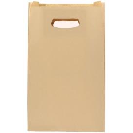 Sacchetti Carta Hawanna Manico Fagiolo 24+7x37cm (50 Pezzi)