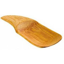 MiniCucchiaio di Bambu Degustazione 10x4cm (24 Pezzi)
