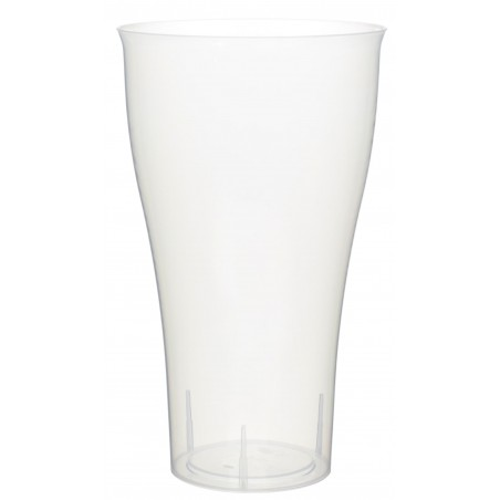 Bicchiere Plastica Trasparente PP 430ml (15 Pezzi)