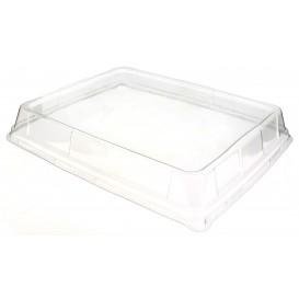 Coperchio Alta Plastica Trasparente Vassoio 316x265mm (25 Pezzi)