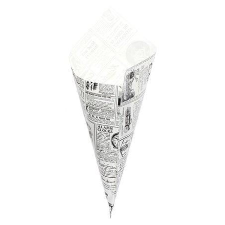Cono di Carta Greaseproof Parchment 340mm 400g (250 Pezzi)