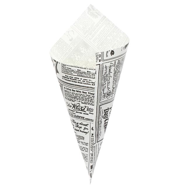 Cono di Carta Greaseproof Parchment 295mm 250g (2000 Pezzi)