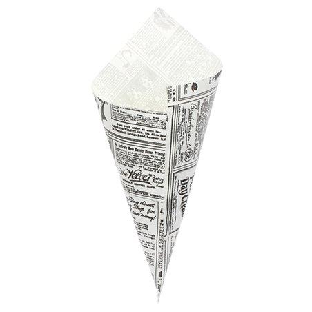 Cono di Carta Greaseproof Parchment 240mm 250g (2000 Pezzi)