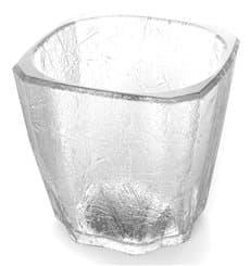 """Bicchiere Riutilizzabile SAN Mini Drink """"Cube"""" 200ml (96 Pezzi)"""