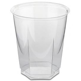 Bicchiere Plastica Esagonale PS Glas 250ml (50 Uds)