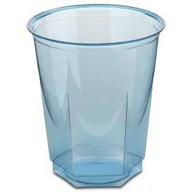 Bicchiere Plastica Esagonale PS Glas Turchese 250ml (10 Uds)