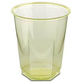 Bicchiere Plastica Esagonale PS Glas Pistacchio 250ml (10 Uds)