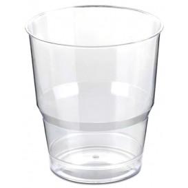 Bicchiere Plastica Imbustate PS Glas Rigidda 250ml (50 Uds)