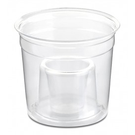 "Bicchiere Plastica ""Shot Bomb"" PS Glas 250ml (50 Uds)"