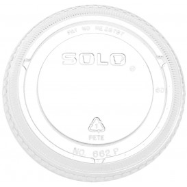 Coperchio Piatto Chiuso PET Glas Ø9,8cm (100 Pezzi)