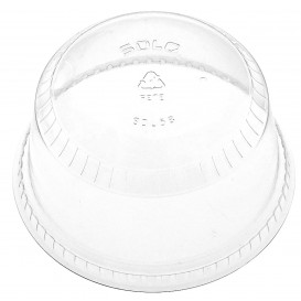 Coperchio Cupola Chiuso PET Glas Ø9,8cm (50 Pezzi)