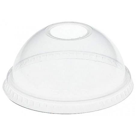 Coperchio Cupola con Foro PET Glas Ø9,8cm (1000 Pezzi)